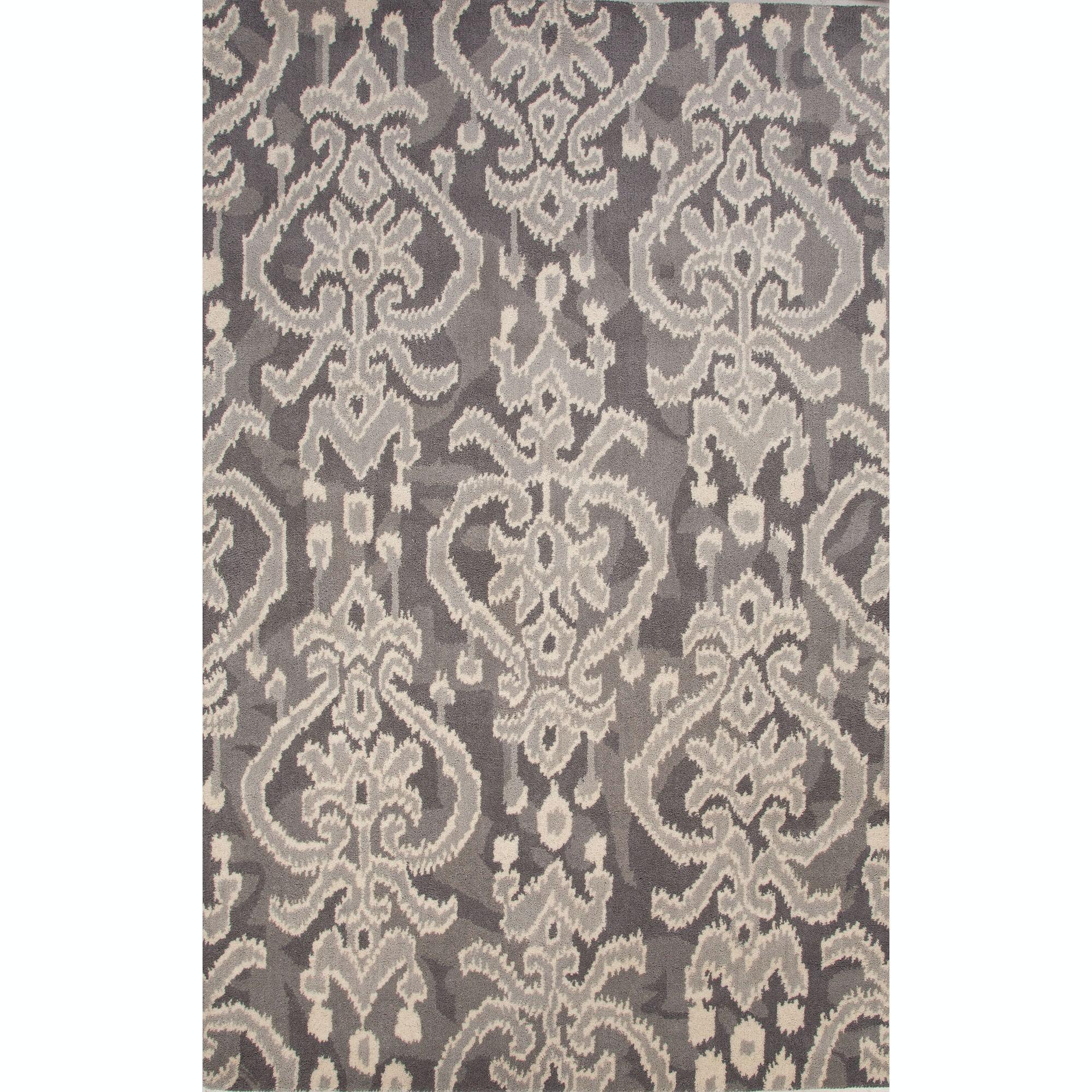 Jaipur Rugs Floor Coverings Jaipur Hand Tufted European Pattern Gray