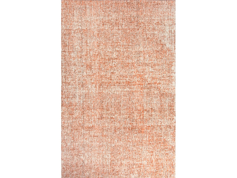 Jaipur Rugs Floor Coverings Hand Tufted Durable Wool Ivory Orange Area Rug 5x8 Rug109252