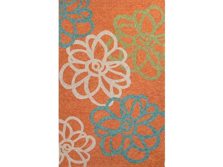 Jaipur Rugs Floor Coverings Flat Weave Durable Wool Orange Green