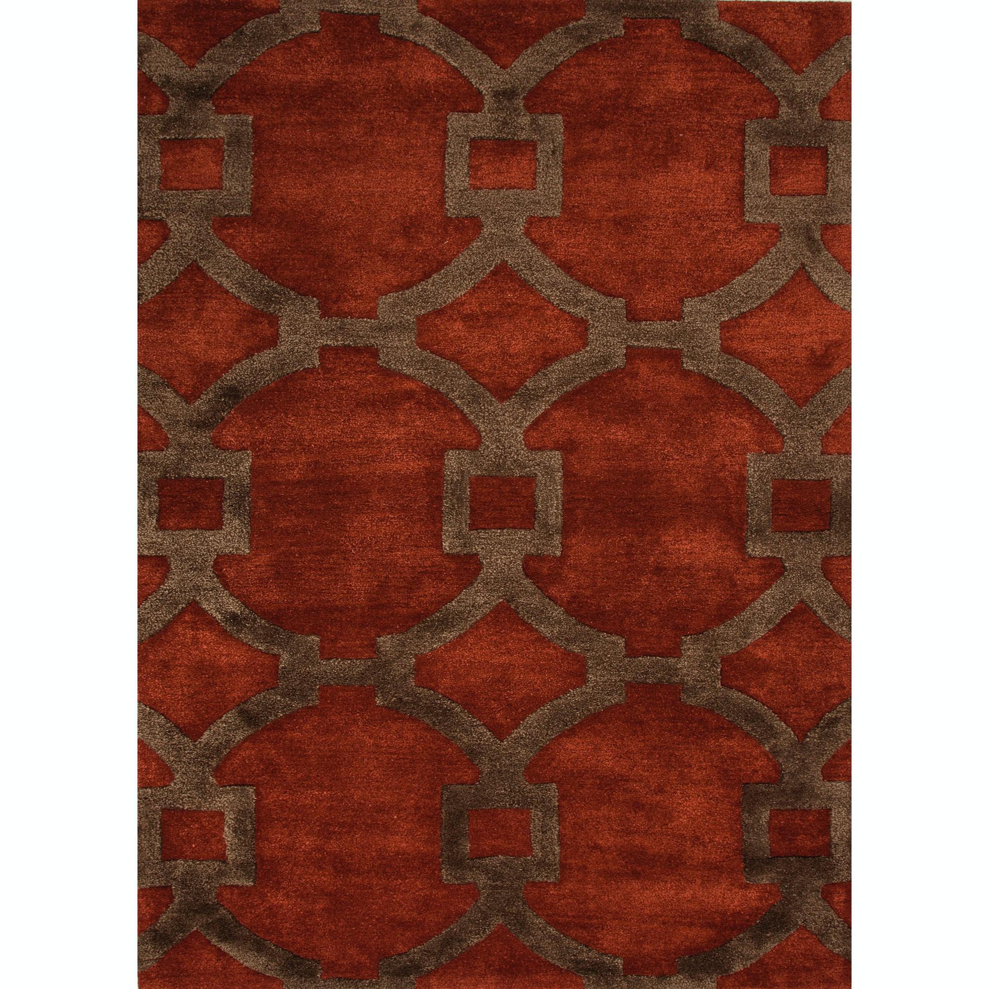 Jaipur Rugs Floor Coverings Hand Tufted Geometric Pattern Wool Art