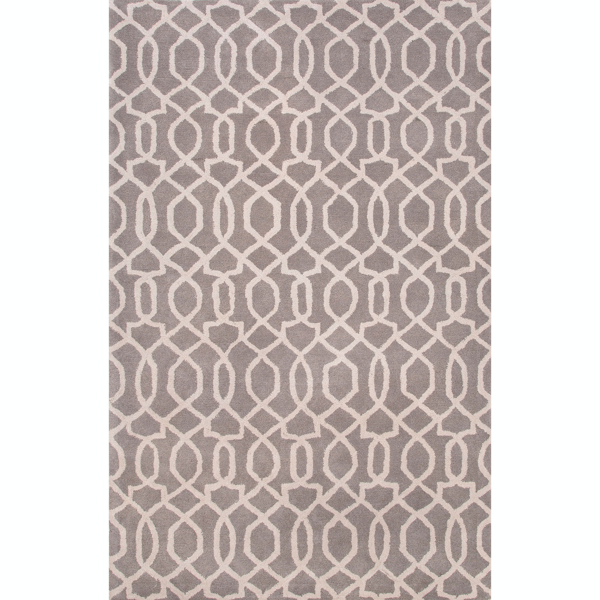 Jaipur Rugs Floor Coverings Hand Tufted Textured Wool Gray Ivory