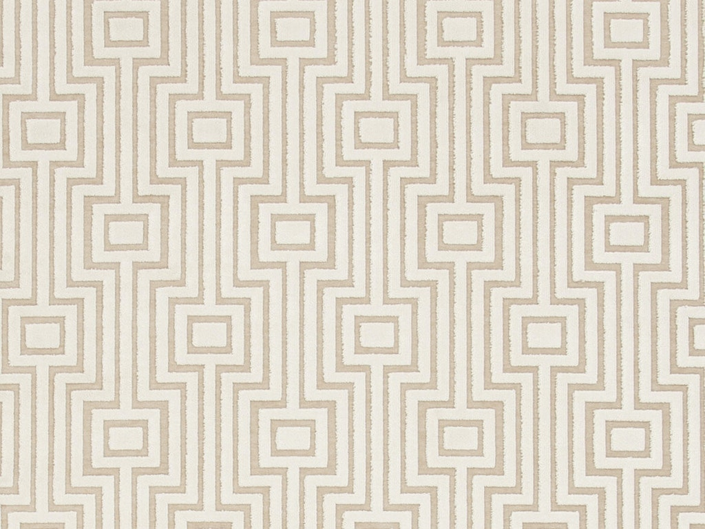 Jaipur Rugs Machine Made Geometric Pattern Art Silk Chenille Ivory Taupe Area Rug