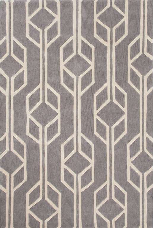 Jaipur Hand Tufted Geometric Pattern