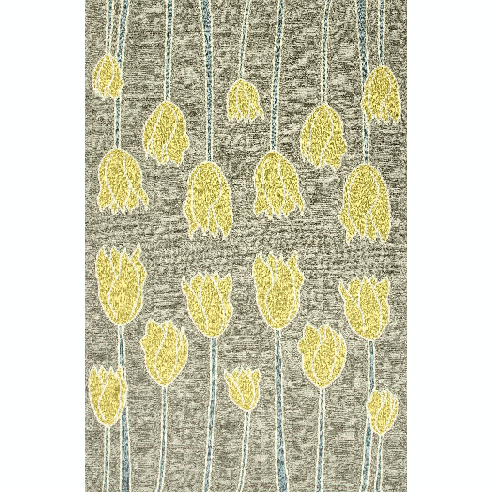Picture of: Jaipur Rugs Indoor Outdoor Durable Polypropylene Gray Yellow Area Rug 5×7 6 Rug108080 In Newnan