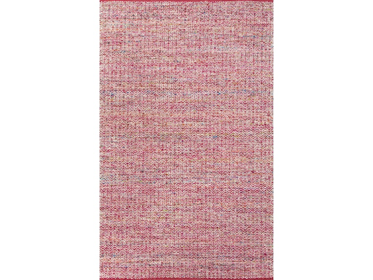 Jaipur Rugs Floor Coverings Flat Weave Soft Hand Wool Art Silk Pink