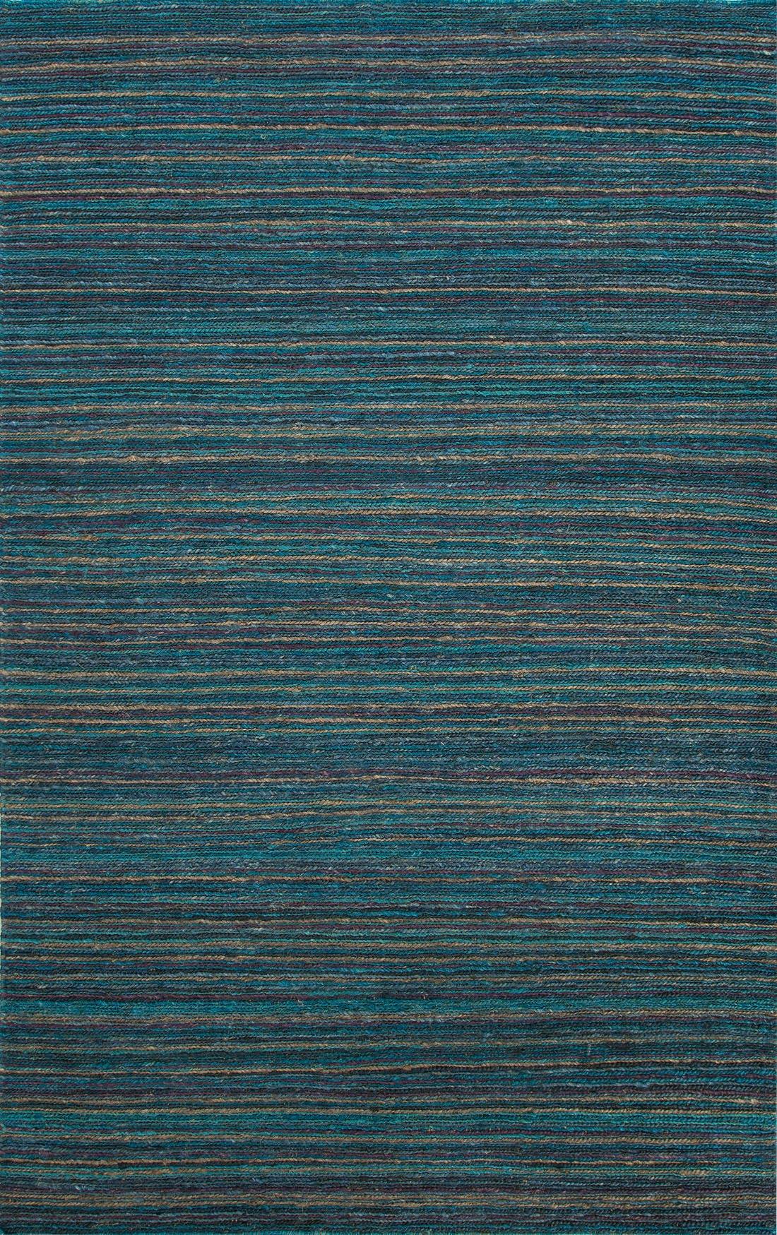 Picture of: Jaipur Rugs Floor Coverings Naturals Stripe Pattern Hemp Blue Purple Area Rug