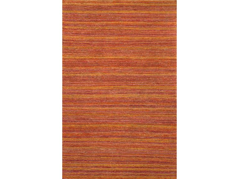 Floor Coverings Naturals Stripe Pattern Hemp Red Orange Area Rug Hu31 At Greenbaum Interiors