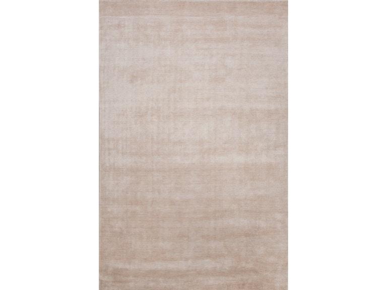 Jaipur Rugs Solids Handloom Solid Pattern Bamboo Silk Ivory White Area Rug Lu07