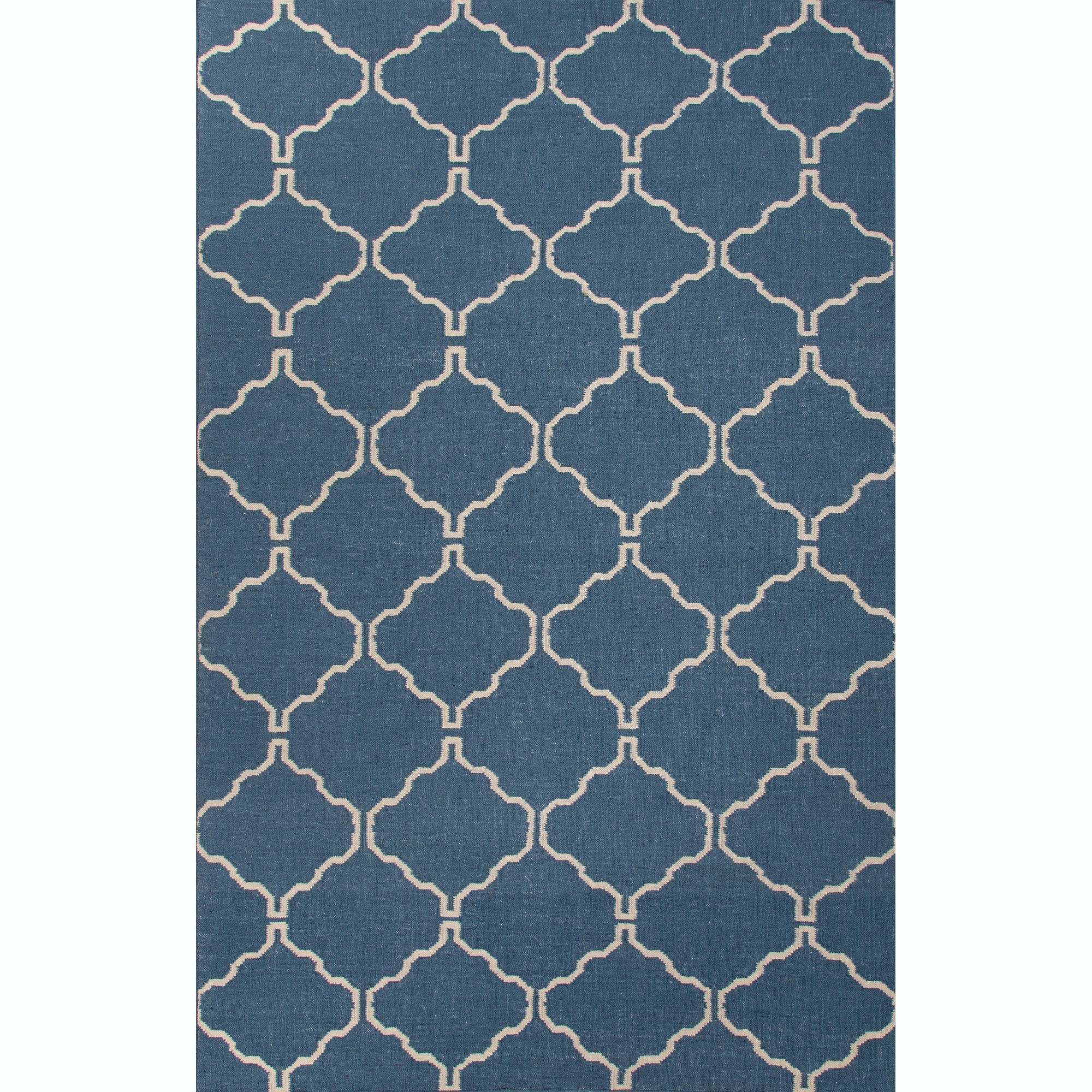 Jaipur Rugs Floor Coverings Flat Weave Moroccan Pattern Wool Blue