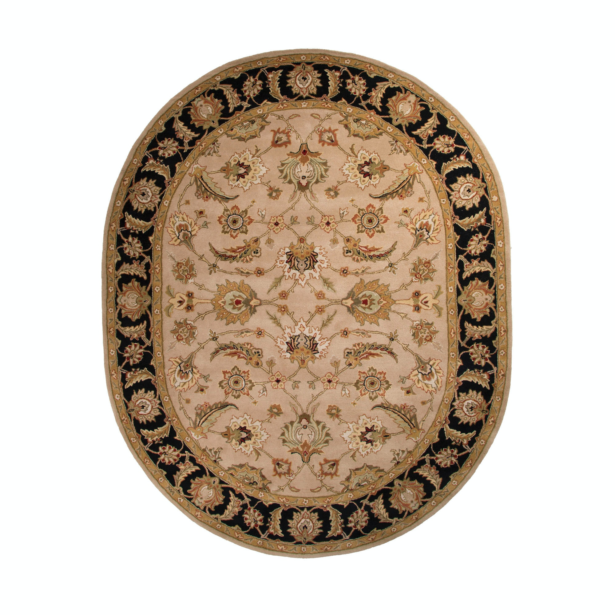 Jaipur Rugs Floor Coverings Hand Tufted Oriental Pattern Wool Taupe