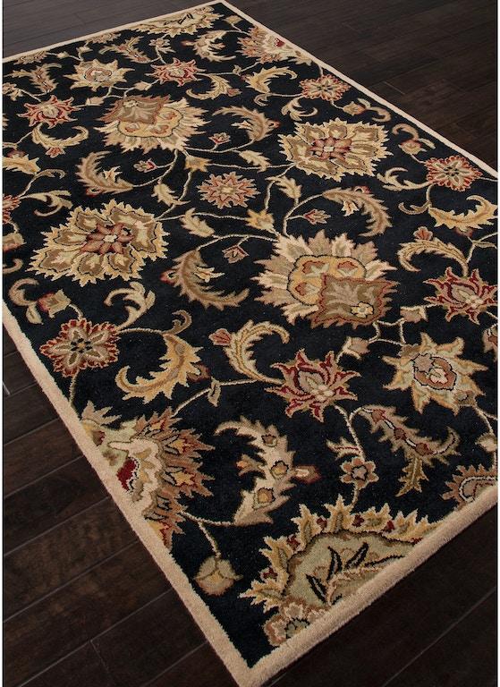 Floor Coverings Hand Tufted Durable Wool Black Tan Area Rug My11