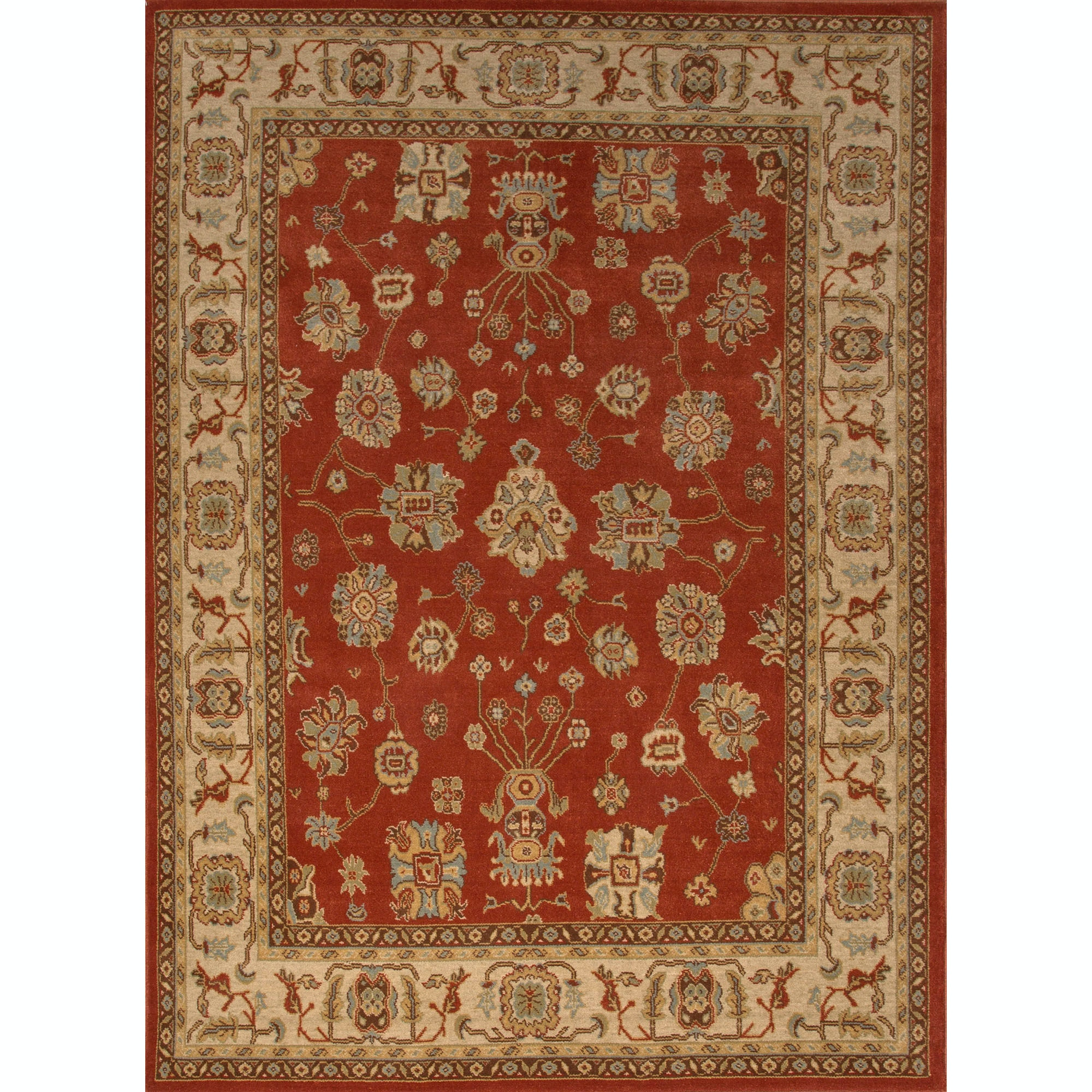 Jaipur Rugs Floor Coverings Jaipur Machine Made Oriental Pattern Red