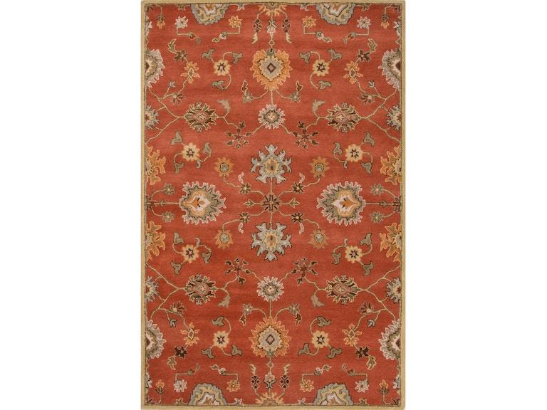 Jaipur Rugs Floor Coverings Hand Tufted Oriental Pattern Orange Wool Area Rug Pm129 At Carol