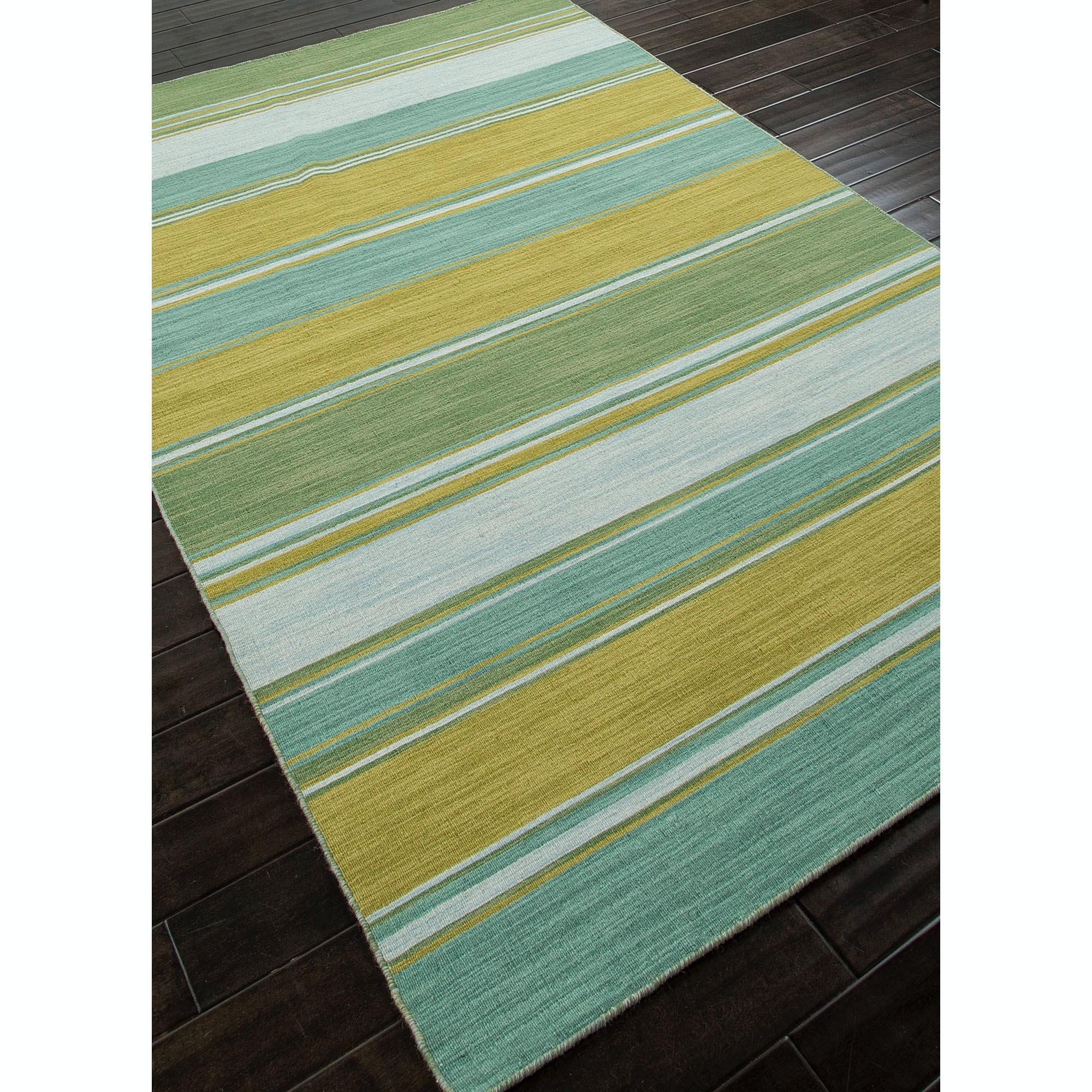 Jaipur Rugs Floor Coverings Flat Weave Stripe Pattern Wool
