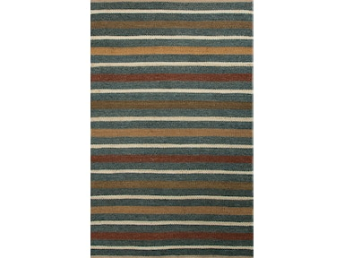 Jaipur Rugs Naturals Textured Hemp Blue/Red Area Rug SHS05