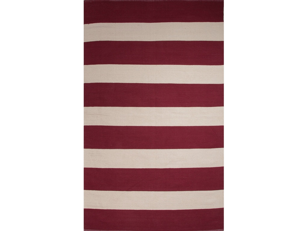 Jaipur rugs floor coverings jaipur flat weave stripe for Red and white striped area rug
