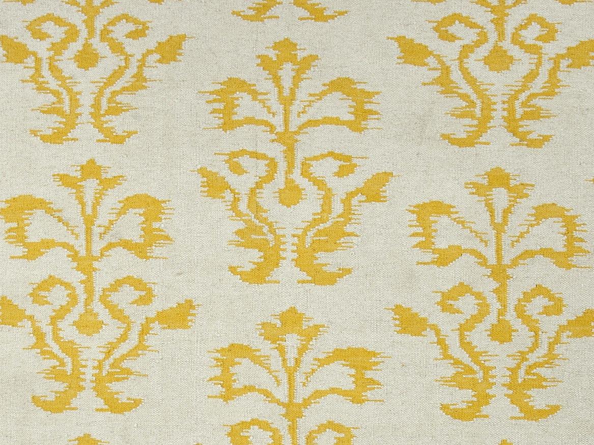 jaipur rugs flatweave tribal pattern wool ivoryyellow area rug 9x12