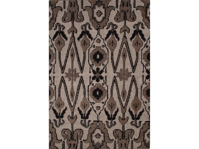 Jaipur Rugs Floor Coverings Jaipur Hand Knotted Tribal Pattern Brown