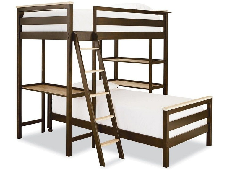 Smartstuff By Encore Complete 3 Metal Loft Bunk Bed Uv5321630 From Walter E