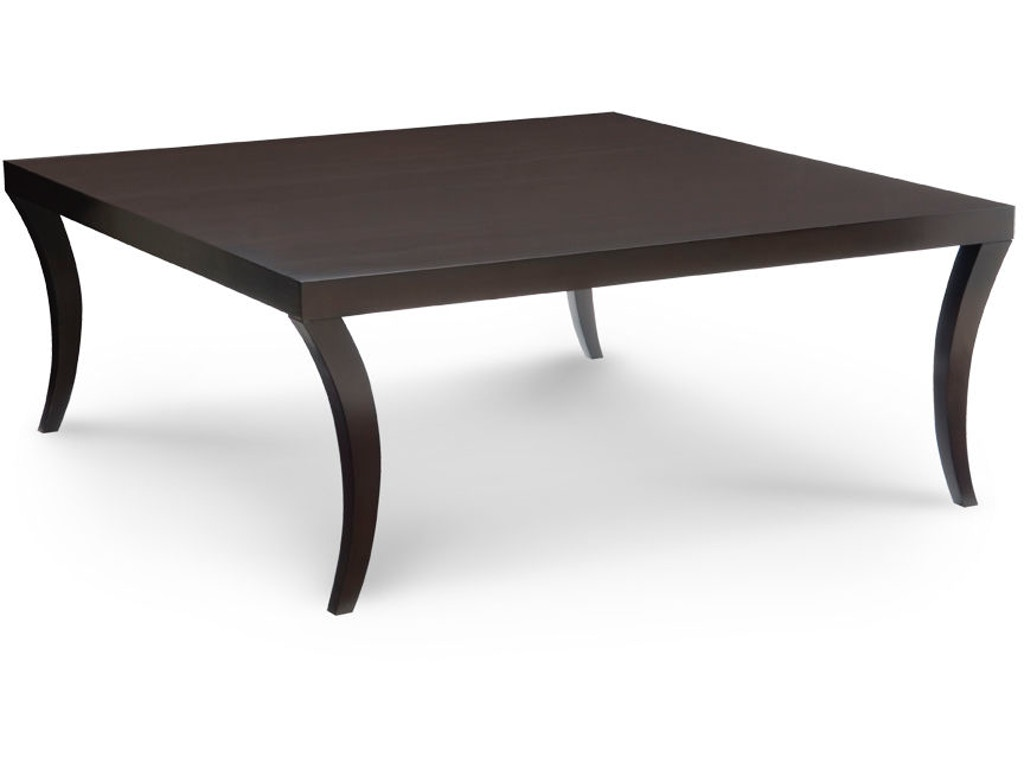Chaddock living room canton square cocktail table 1388 40 for 40 x 40 square coffee table