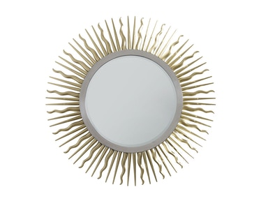 Chaddock Golden Eye Round Mirror 1513-04