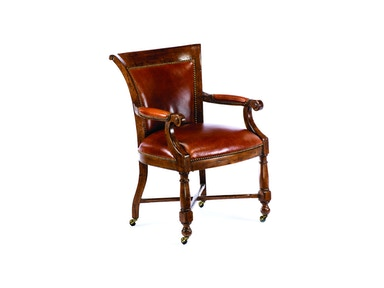 Chaddock Canterbury Game Arm Chair With Casters CE0327