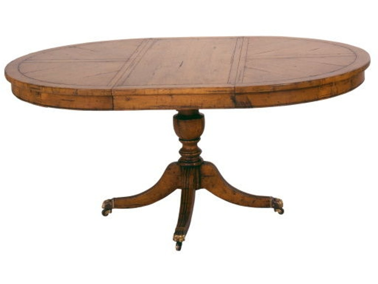 Chaddock Silverthorne Pedestal Table CE0917