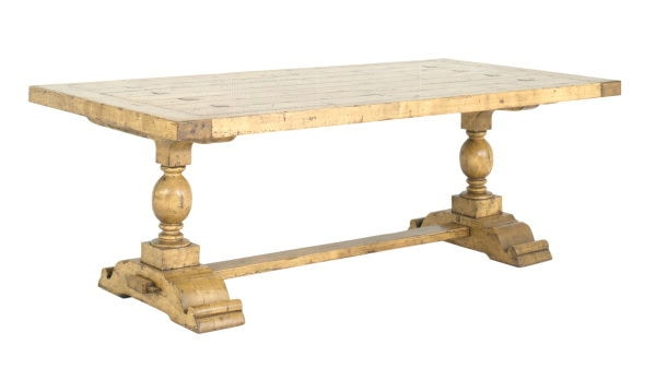 Chaddock Milton Double Pedestal Trestle Table CE0919