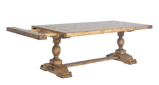 Chaddock Dining Room Milton Double Pedestal Trestle Table