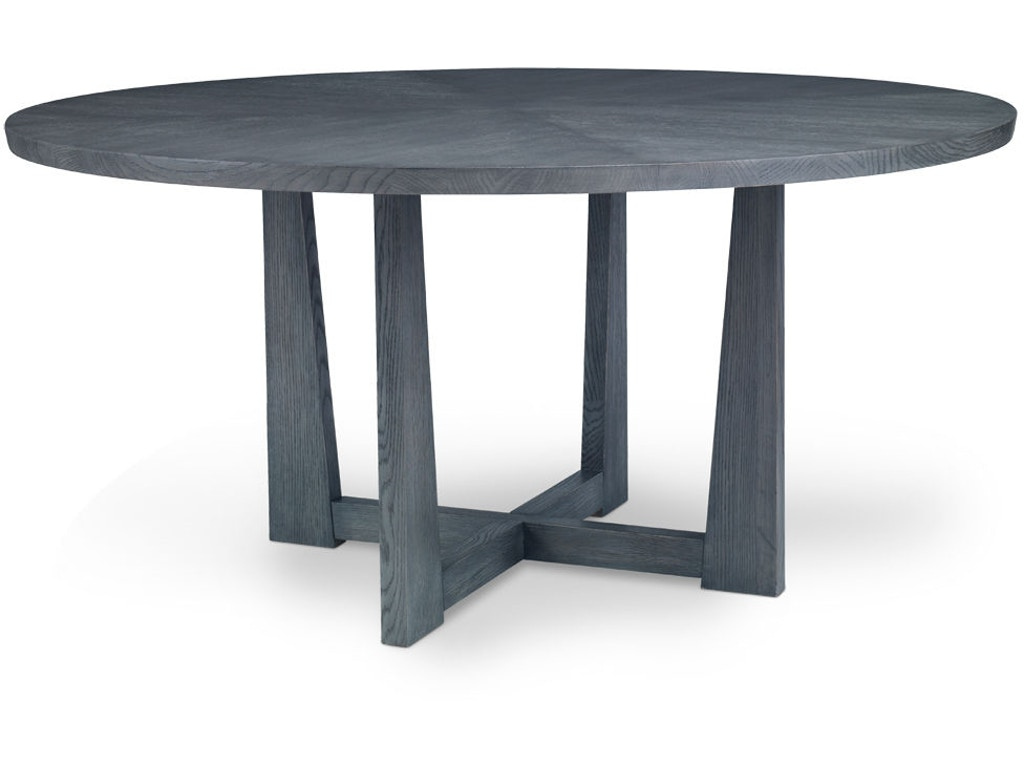 Chaddock dining room forum round dining table gc1671 18 for Table 52 houston