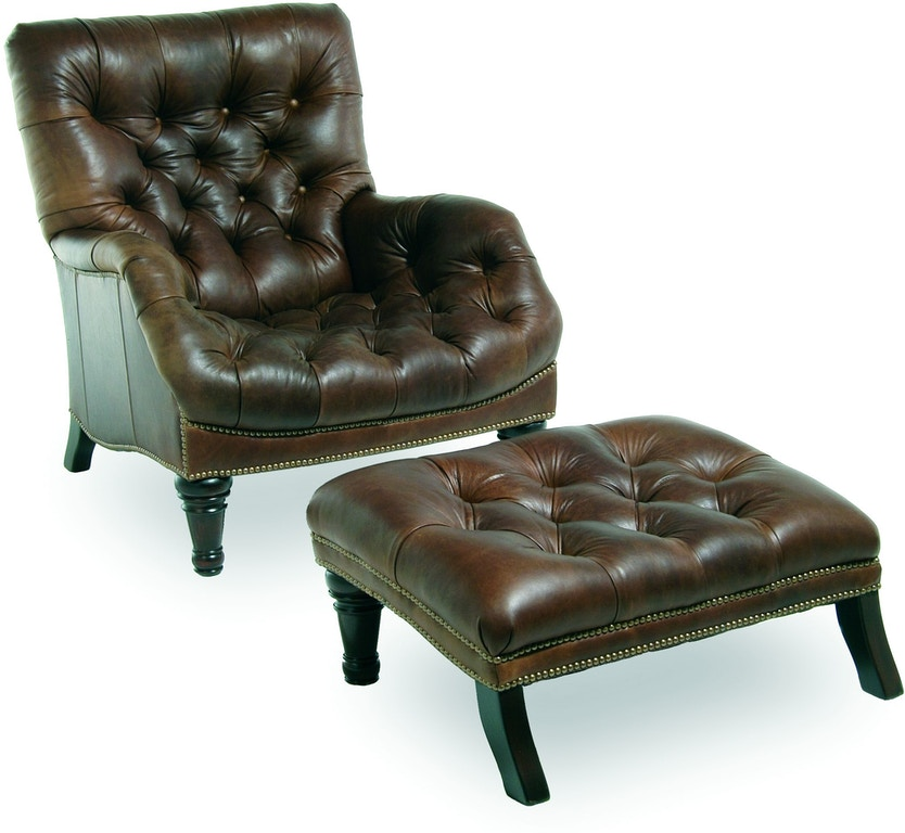 Chaddock Living Room Sleepy Hollow Chair Leather L 0278