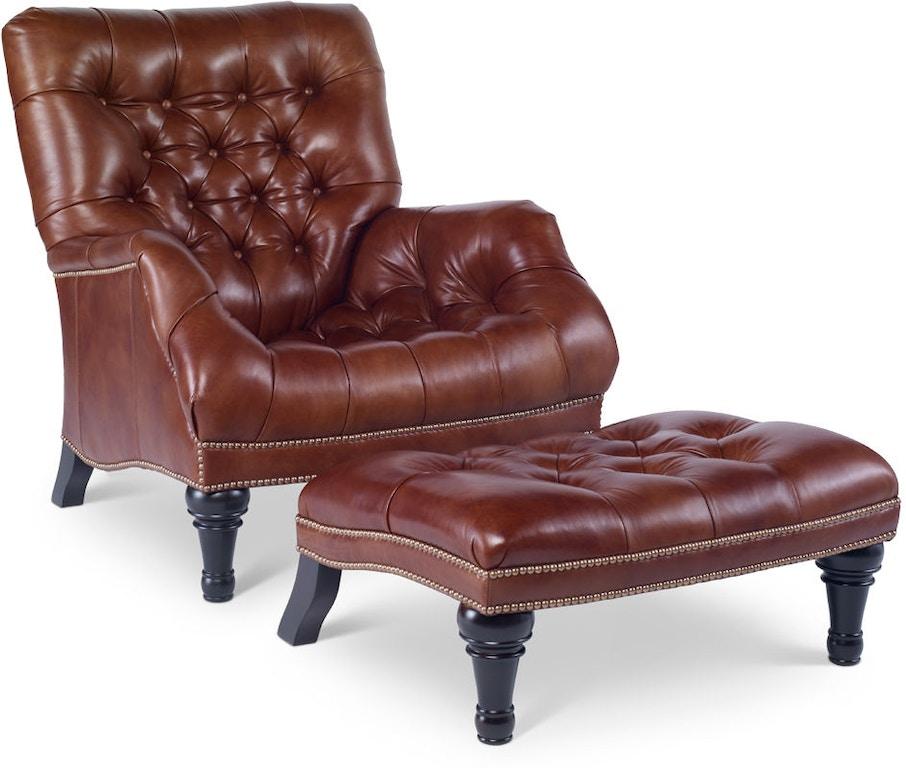 Chaddock Auto Sales >> Chaddock L-0278-1 Living Room Sleepy Hollow Chair (Leather)