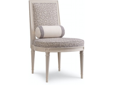 Strange Chaddock Dining Room Ophelia Carved Slipper Chair Mm1418 26 Dailytribune Chair Design For Home Dailytribuneorg