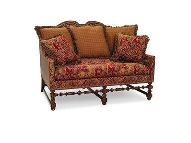 Chaddock European Tour Loveseat (Fabric) U0329-2