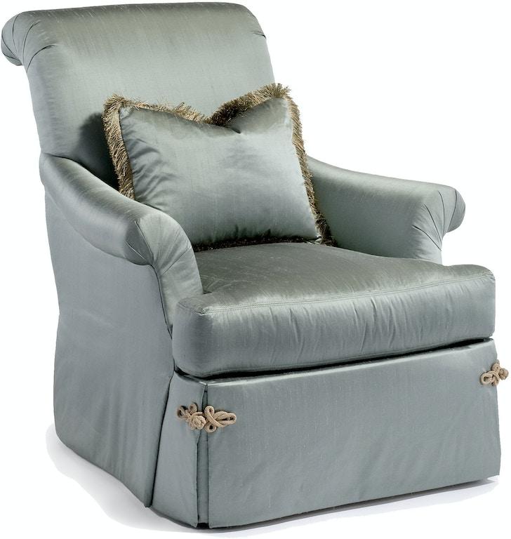 Enjoyable Chaddock Living Room Sleigh Swivel Chair U0770 1 Seldens Spiritservingveterans Wood Chair Design Ideas Spiritservingveteransorg