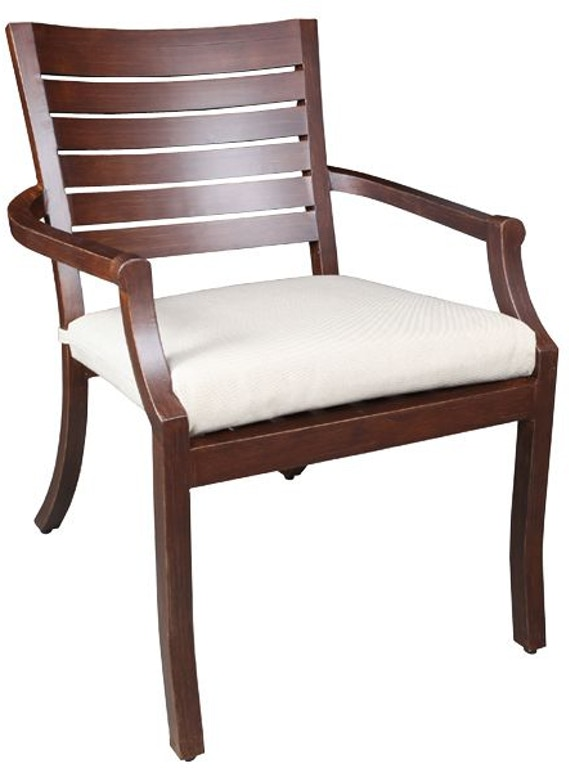 Cabana Coast Outdoor Patio Mission Dining Chair 30001