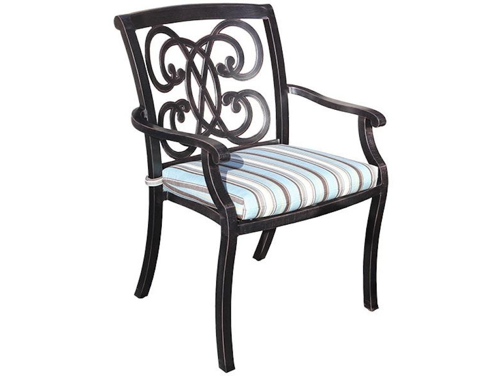 Cabana Coast Outdoor Patio Regency Dining Chair 60014 Penn Furniture Scranton Pa