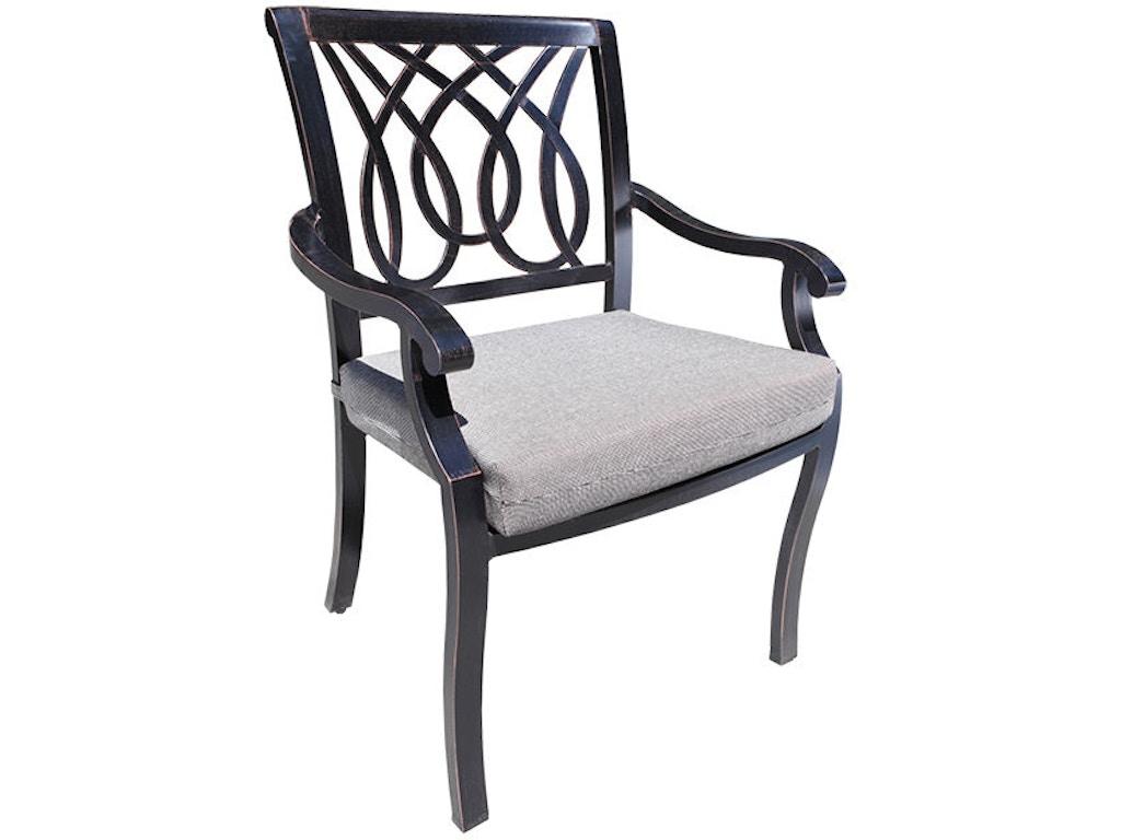 Cabana Coast Outdoor Patio Bloom Dining Chair 60075 Penn Furniture Scranton Pa
