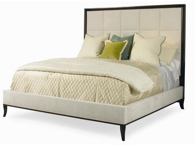 Century Furniture Bed With Upholstery - King Size 6/6 339-126
