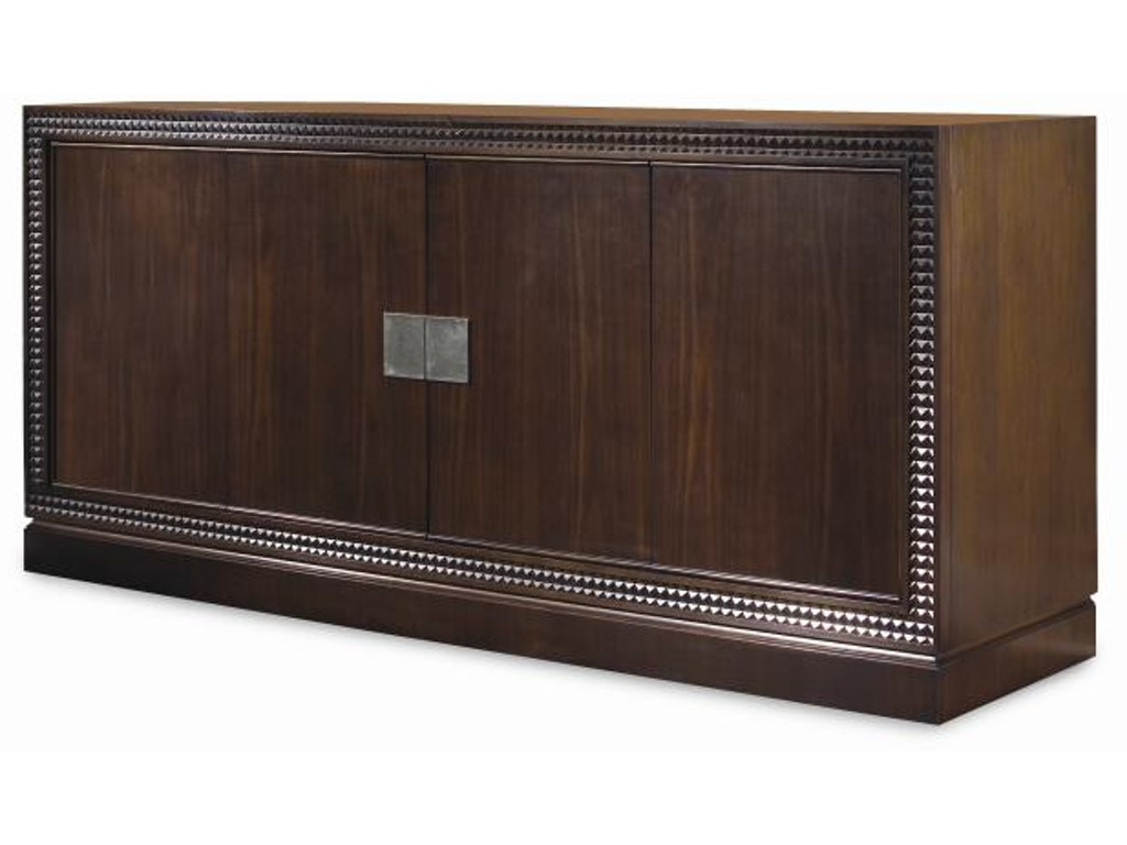 Century furniture home entertainment entertainment console for Home theater furniture louisville ky