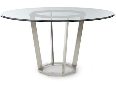 41A 305 Fair Park Metal Base Dining Table
