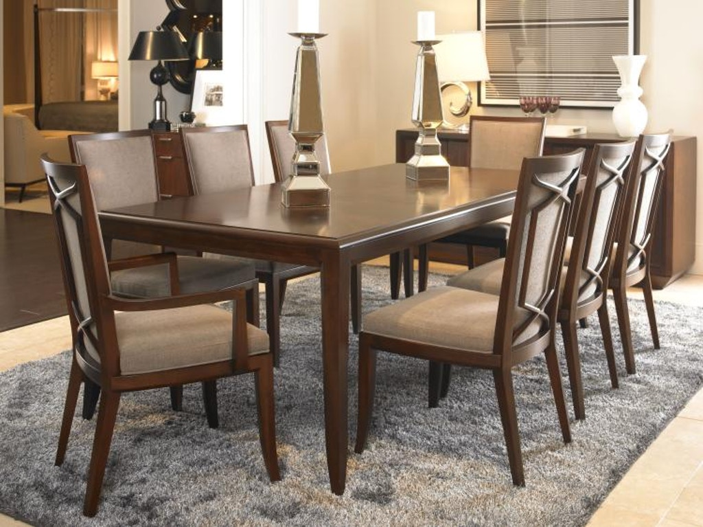 Brilliant Century Furniture Dining Room Fisher Dining Table 419 301 Machost Co Dining Chair Design Ideas Machostcouk