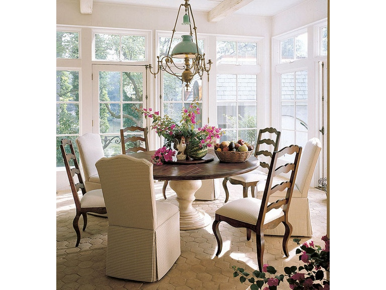 Century Furniture Dining Room Town And Country Centre Table 429 316 At West Coast Living