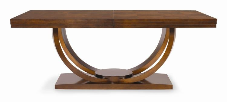 Century Furniture Dining Room Dining Table 55H303 Hickory