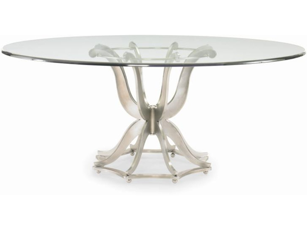 Century Furniture Dining Room Metal Table Base Only Cnt55a307b Walter E Smithe Design