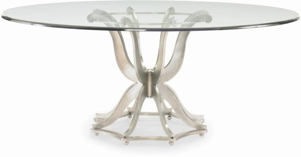 Century Furniture Dining Room Metal Dining Table Base Only