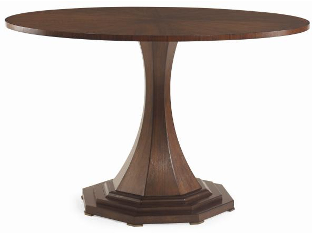 Century furniture dining room maire louise round dining for Dining room tables milwaukee