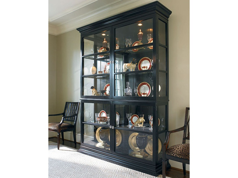 Century Furniture Living Room Display Cabinet 779-423 | Hickory ...