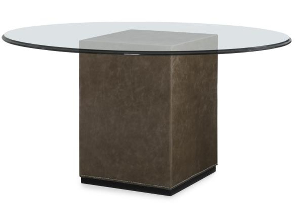 Century Furniture Dining Room Upholstered Dining Table Base For Glass Tops 789 841b G Elite
