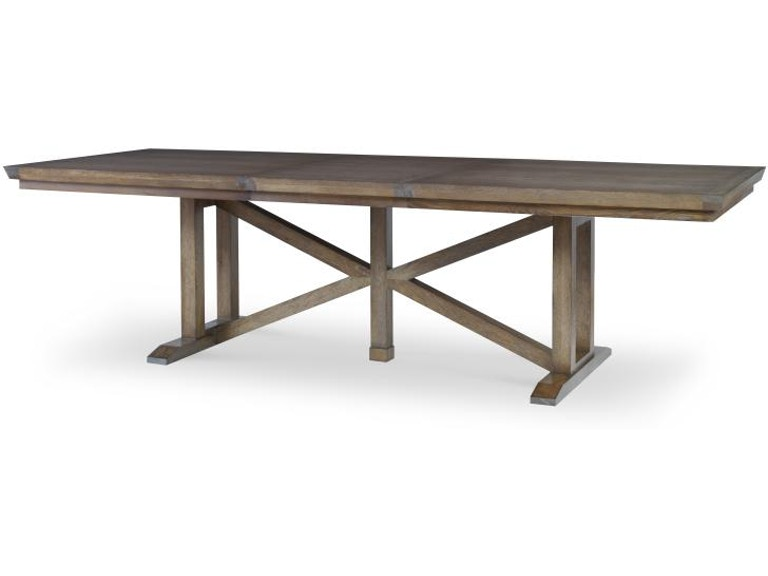 Century Furniture Dining Room Gallery Trestle Dining Table